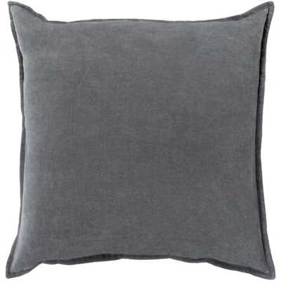 "Cotton Velvet, 20"" with Down Insert - Neva Home"