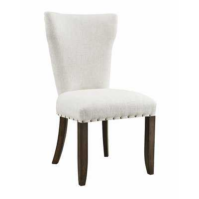 Hayes Upholstered Dining Chair (Set of 2) - Wayfair
