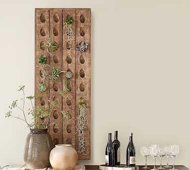 "Decorative French Wine Riddling Rack, 21 x 57"" - Pottery Barn"