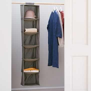 Soft Closet Hanging Organizer - West Elm