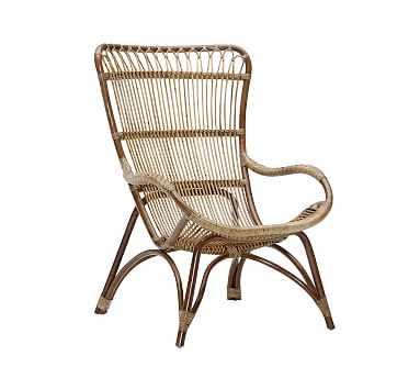 Sika Design Monet Rattan Chair, Antique - Pottery Barn