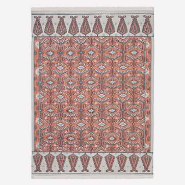 Montane Rug, Papaya, 8'x10' - West Elm