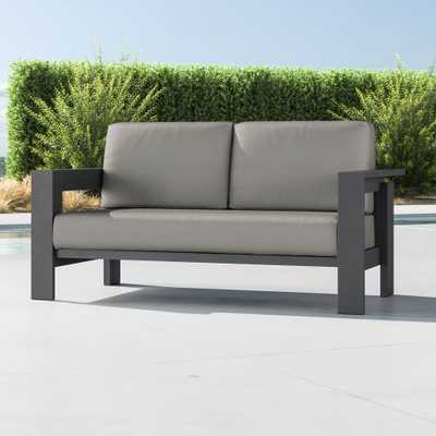 Walker Metal Sofa with Sunbrella ® Cushions - Crate and Barrel