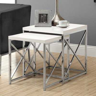 Hitching 2 Piece Nesting Table Set - Wayfair