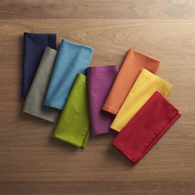 Spectra Cloth Dinner Napkins, Set of 8 - Crate and Barrel