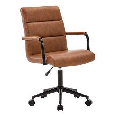 Peugeot Task Chair- Brown - Wayfair