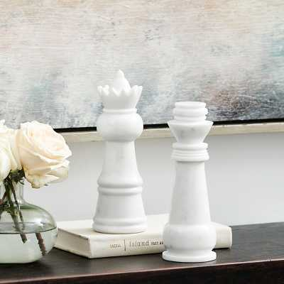 Ballard Designs Chess Pieces - Set of 2 - Ballard Designs