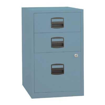 Rutherford 3 Drawer Vertical Filing Cabinet - Wayfair