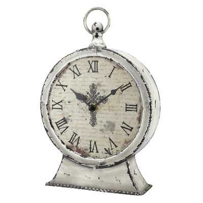Faith Table Clock - Birch Lane