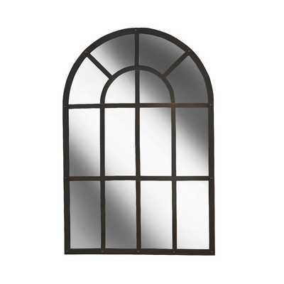 Iron Arched Mirror - Birch Lane