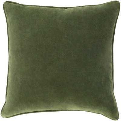 Baylie Cotton Velvet Throw Pillow - Wayfair
