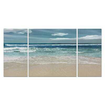 A Premium 'Symphony of the Sea' Multi-Piece Image on Canvas - Wayfair