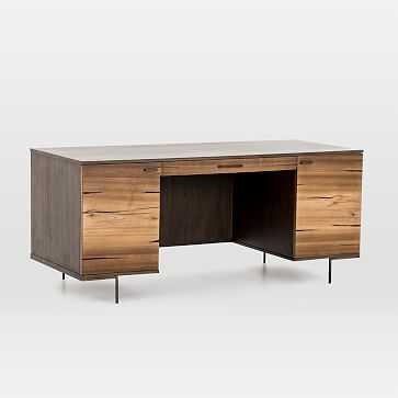 Natural Wood Desk - West Elm