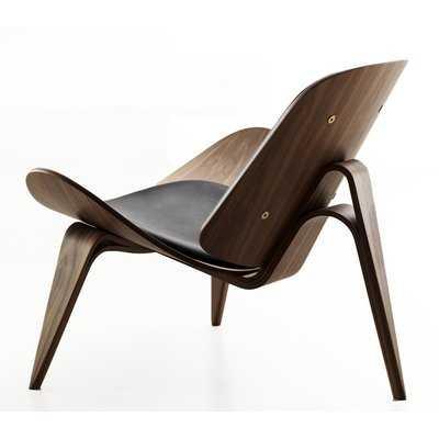 Basswood Lounge Leather Lounge Chair - Wayfair