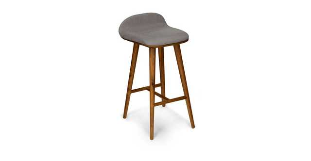 Sede Thunder Gray Walnut Counter Stool - Article