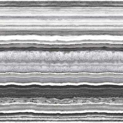 Brewster Wallcovering 56.4 sq. ft. Matieres Grey Stone Strippable Wallpaper - Home Depot