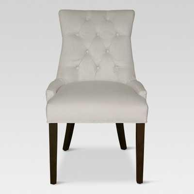 Dining Chairs Lt Gray - Threshold, Light Gray Velvet - Target