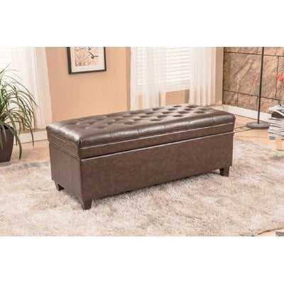 Upholstered Storage Bench - Wayfair