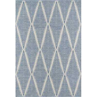 River Beacon Hand-Woven Denim Indoor/Outdoor Area Rug - Wayfair