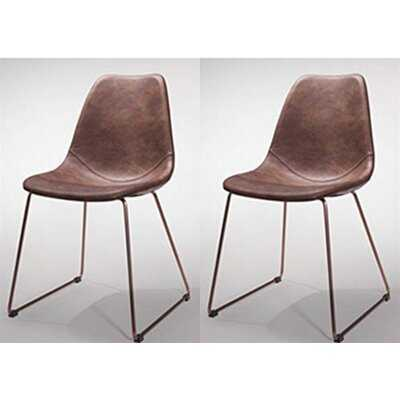 Collingwood Upholstered Dining Chair (Set of 2) - Wayfair