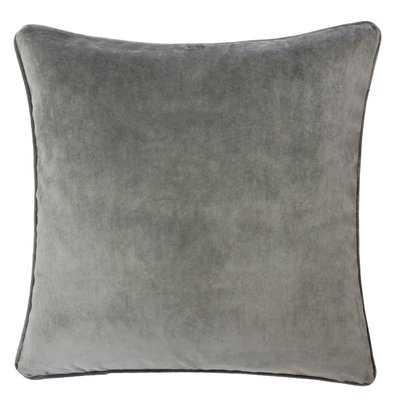 Allen Solid Indoor/Outdoor Velvet Throw Pillow - Wayfair