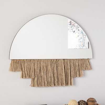 Amee Frameless Accent Mirror - Wayfair