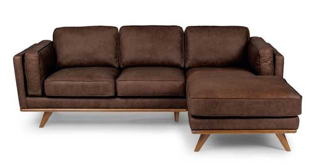 Timber Charme Chocolat Right Sectional - Article