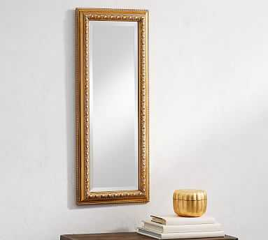 Marcel Wall Mirror, Gold Gilt - Pottery Barn
