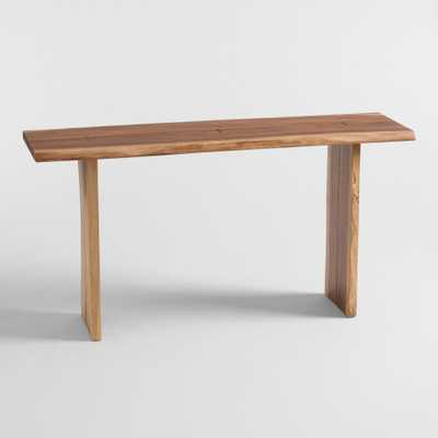 Live Edge Wood Sansur Console Table by World Market - World Market/Cost Plus