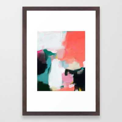 Tropical Framed Art Print by Parimastudio - Society6