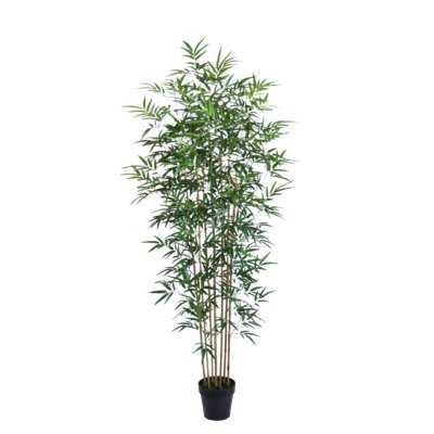 Faux Floor Bamboo Tree in Pot - Wayfair