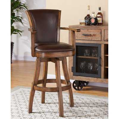Shockley Swivel Bar Stool - Wayfair