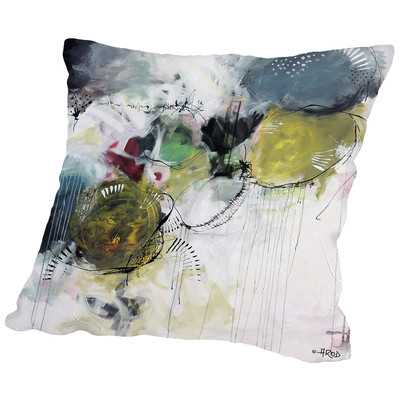 Motus Aux Citrons Throw Pillow - Wayfair