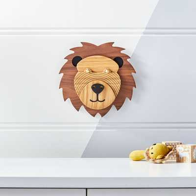 Lion Animal Head Wall Decor - Crate and Barrel