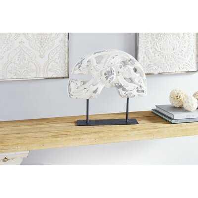 Neagle Distressed Acanthus Table Décor Sculpture - Wayfair