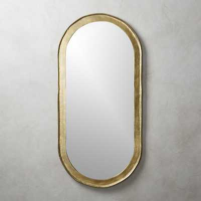 Abel Oval Mirror - CB2