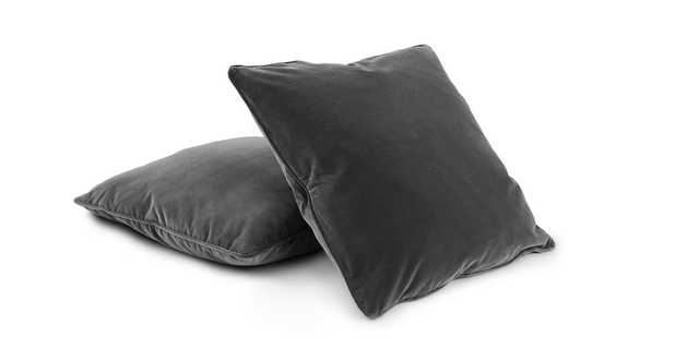 Lucca Shadow Gray Pillow Set of 2 - Article