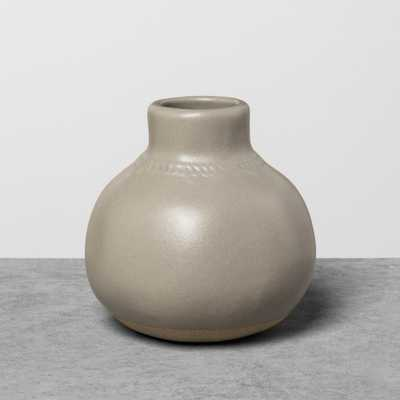 Vase Gray - Hearth & Hand with Magnolia - Target