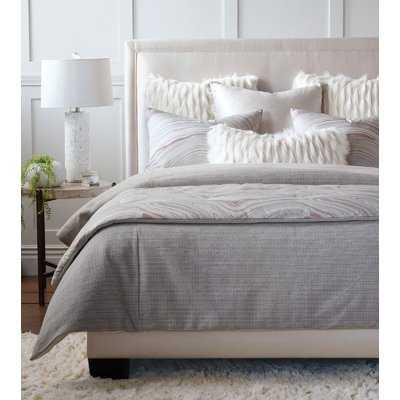 Geode Luxe Faux Fur Lumbar Pillow - Wayfair