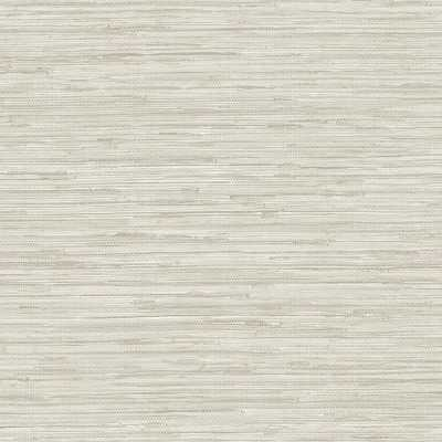 Norwall Faux Light Taupe (Brown)/white Grasscloth Wallpaper - Home Depot