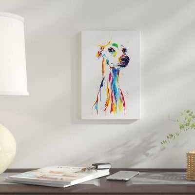 'Whippet Good' Graphic Art Print on Canvas - Wayfair