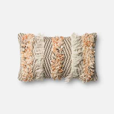 "PILLOWS - RUST / IVORY - 13"" X 21"" Cover Only - Loma Threads"