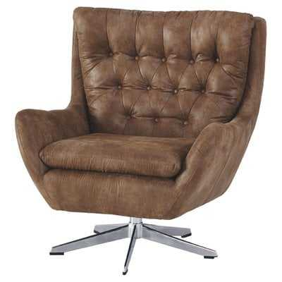 Hysley Swivel Armchair - Wayfair
