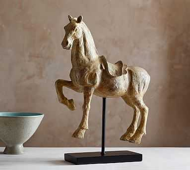 Horse On Stand - Pottery Barn
