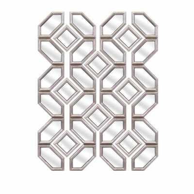 IMAX Prestin Wall Mirrors - Set of 12 - Home Depot
