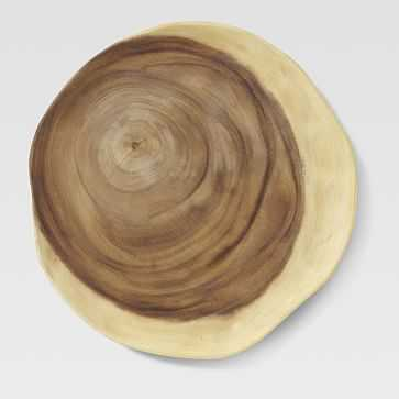 Wood Slice Charger - West Elm