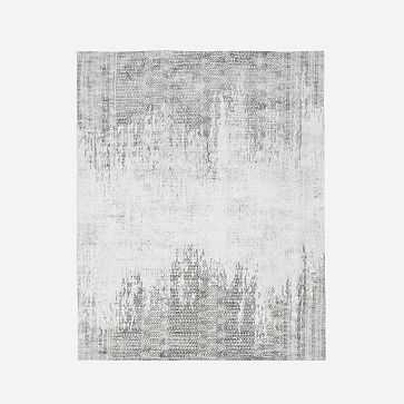 Pharaoh Rug, Platinum, 8x10' - West Elm