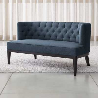 Grayson Tufted Settee - Crate and Barrel