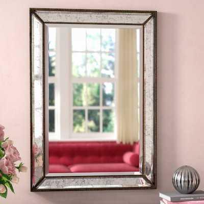 Marsha Traditional Rectangle MDF/Mirror Framed Accent Mirror - Wayfair