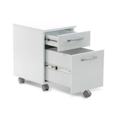 Tribeca 2-Drawer Mobile Pedestal Filing Cabinet - Wayfair